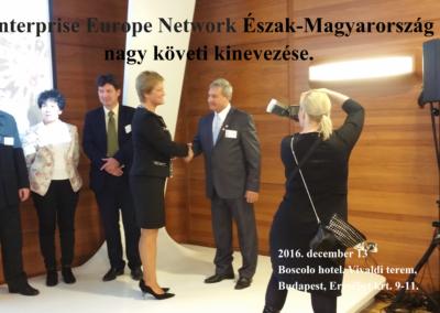 Enerprise Europe Network nagyköveti kinevezés